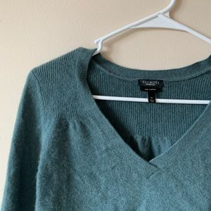 Teal Women's Cashmere Sweater